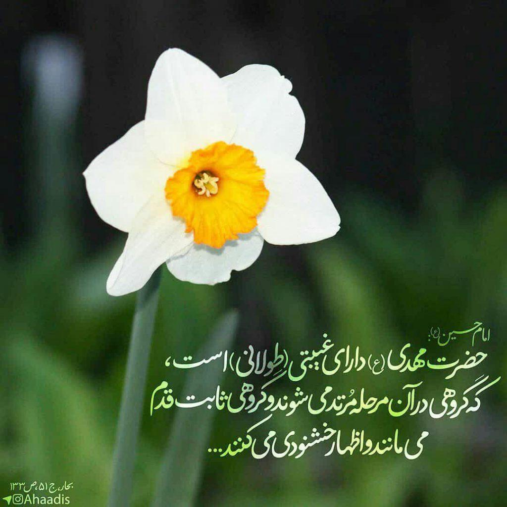 🌷امام حسین (ع): حضرت مهدى (ع) داراى غيبتى است